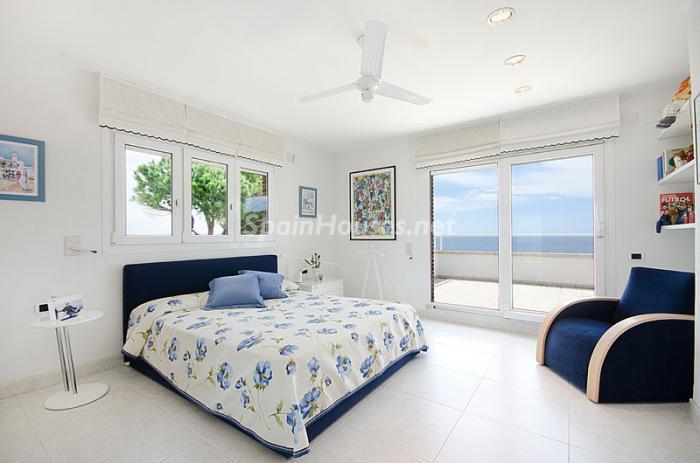 dormitorio211 - Sensacional casa de lujo en Torredembarra (Costa Dorada): elegancia y luz junto al mar