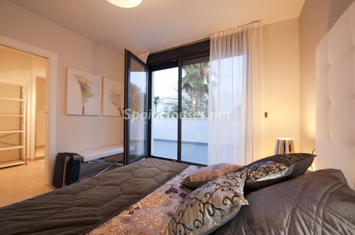 dormitorio215 - Coqueto y moderno chalet de diseño en Santiago de la Ribera (Costa Cálida, Murcia)