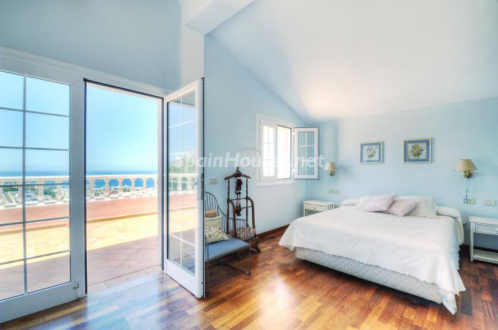 dormitorio22 - Bonita casa con encanto y estupendas vistas al mar en Costa Adeje, Tenerife (Islas Canarias)