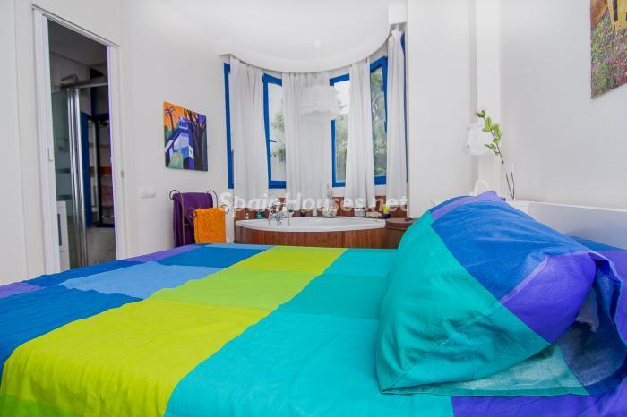 dormitorio27 - Luminoso y coqueto dúplex reformado en el centro de Marbella, Costa del Sol