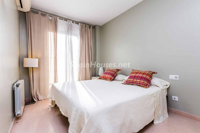 dormitorio30 - Luminoso y acogedor dúplex en alquiler en Diagonal Mar, Barcelona