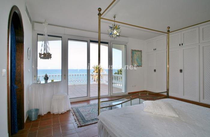 dormitorio35 - Fantástica villa en primera línea de playa en Carboneras (Almería)
