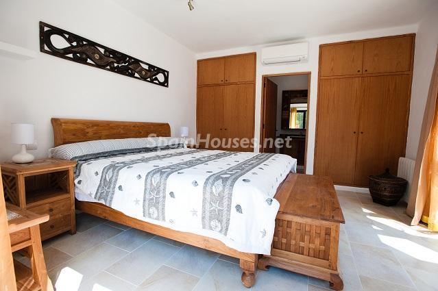 dormitorio37 - Preciosa casa de reluciente blanco mediterráneo en la campiña ibicenca