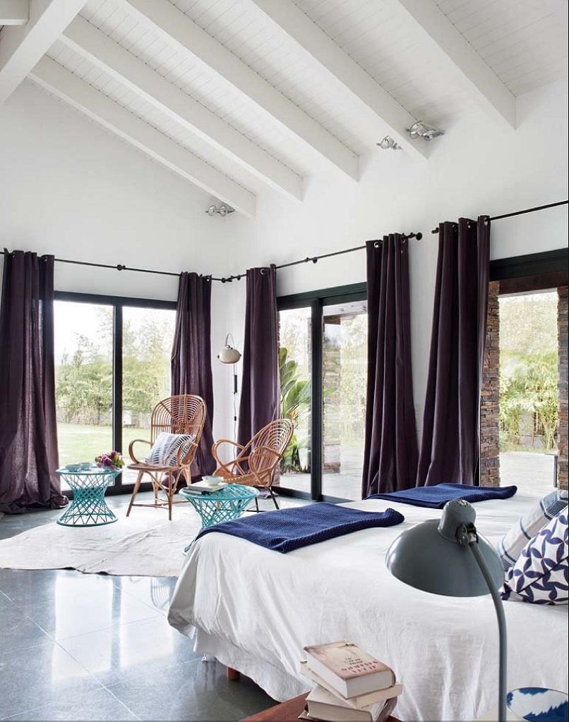 dormitorio38 - Esencia cálida en espacios diáfanos: la casa que soñó ser un loft en contacto con la naturaleza