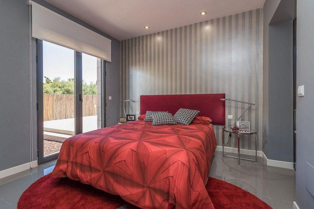 dormitorio4 3 1024x683 - Preciosa casa de diseño en Orihuela Costa (Costa Blanca), en 2ª línea de playa