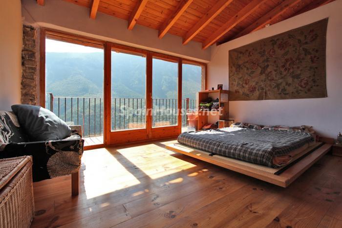 dormitorio41 - El encanto rural de una casa de piedra entre las montañas de Baix Pallars, Lleida