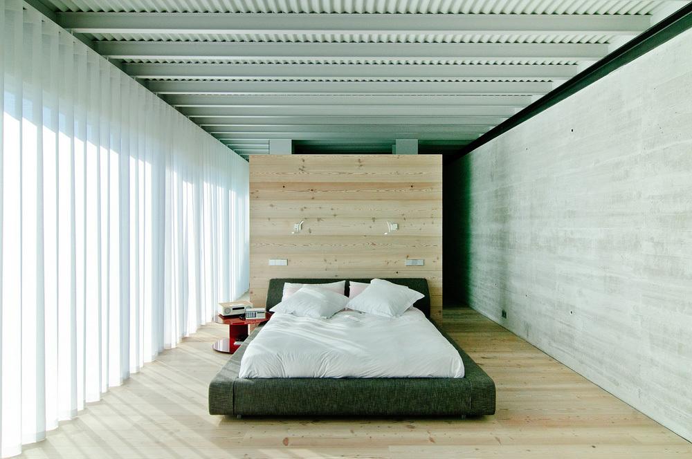 dormitorio47 - Interesante casa de estilo industrial entre los verdes campos de Cantabria