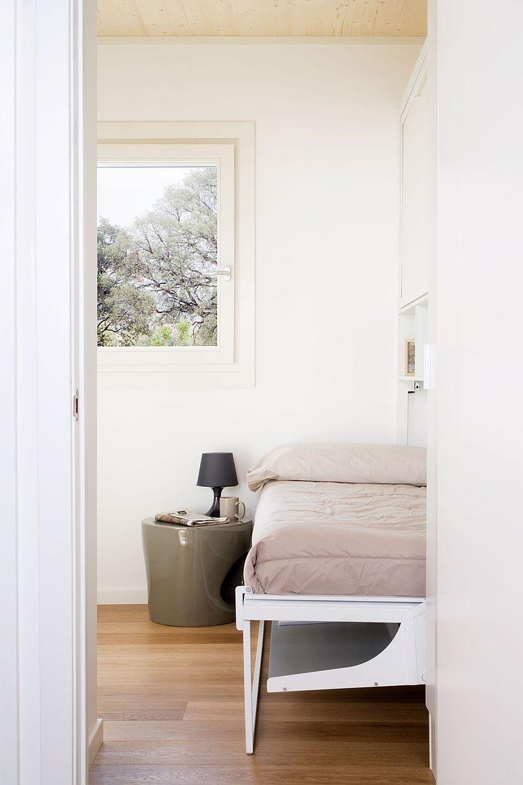 dormitorio55 - Genial casa prefabricada, bioclimática y tecnológica en Castellón de la Plana