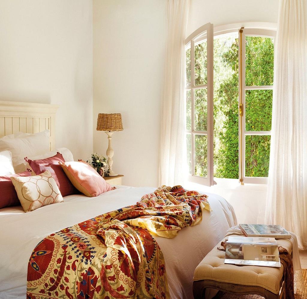 dormitorio56 - Las Mimosas, una casa llena de encanto en San Pedro Alcántara (Marbella, Costa del Sol)