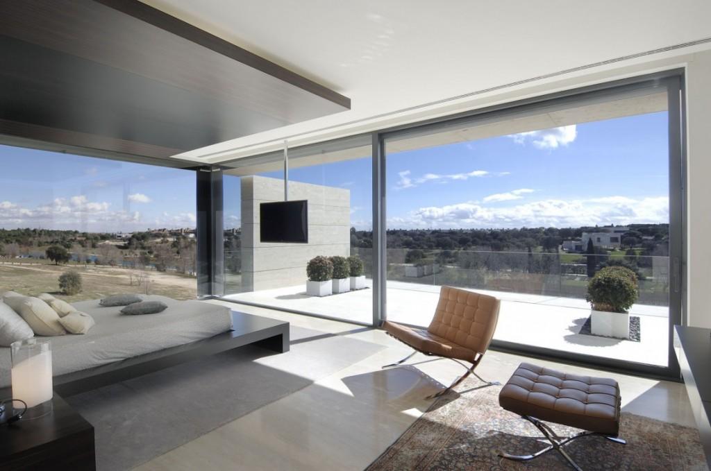 dormitorio57 - Diseño contemporáneo y minimalista en La Finca, Pozuelo de Alarcón (Madrid)