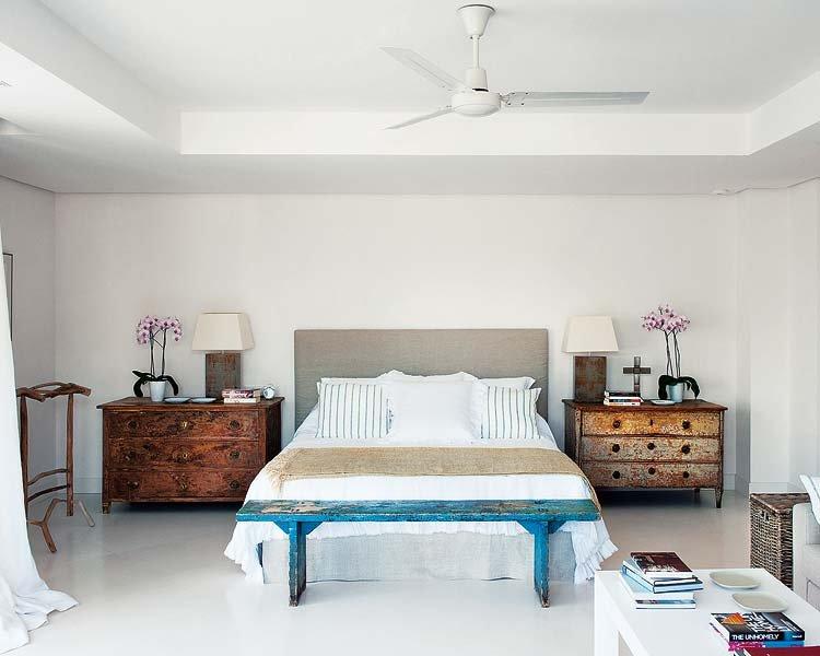 dormitorio66 - Toques de azul turquesa en una genial casa en Sotogrande (Costa de la Luz, Cádiz)