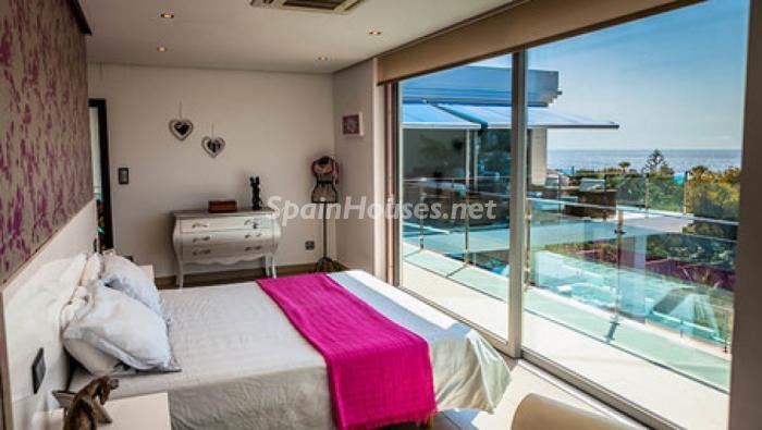 dormitorio67 - Moderna villa con fantásticas vistas al mar en Les Basetes, Calpe (Costa Blanca)