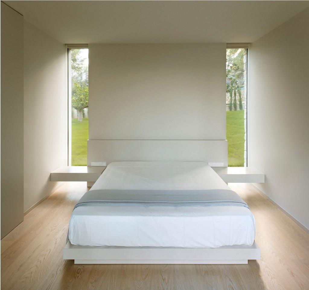 dormitorio68 - Casa El Bosque (Chiva, Valencia): diseño moderno con distintos grados de intimidad