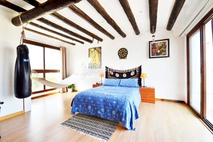 dormitorio70 - Coqueto y luminoso chalet en alquiler en Son Rapinya, Palma de Mallorca