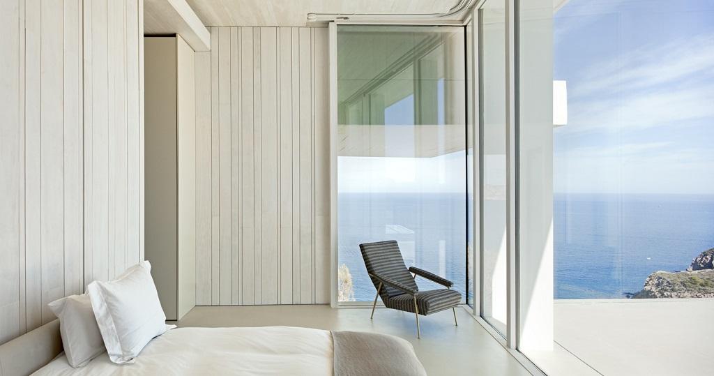 dormitorio78 - Casa Sardinera, Jávea (Costa Blanca): diseño imponente y liviano frente al mar