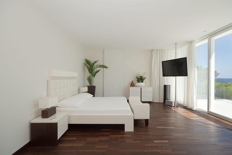 dormitorio79 - Espectacular y luminosa casa de diseño frente al mar en Cala d'Or, Santanyí (Mallorca)