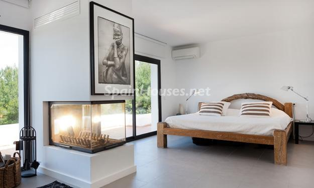 dormitorio8 - Casa de la Semana: Preciosa villa de estilo minimalista en Ibiza, Islas Baleares