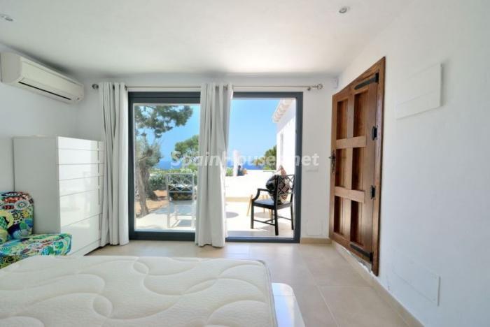 dormitorio85 - Fantástica villa en Cala Vadella (San José, Ibiza): blanca, luminosa y mediterránea