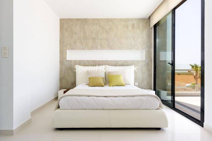 dormitorio91 - Coqueta y luminosa casa de diseño en Guardamar del Segura (Costa Blanca, Alicante)