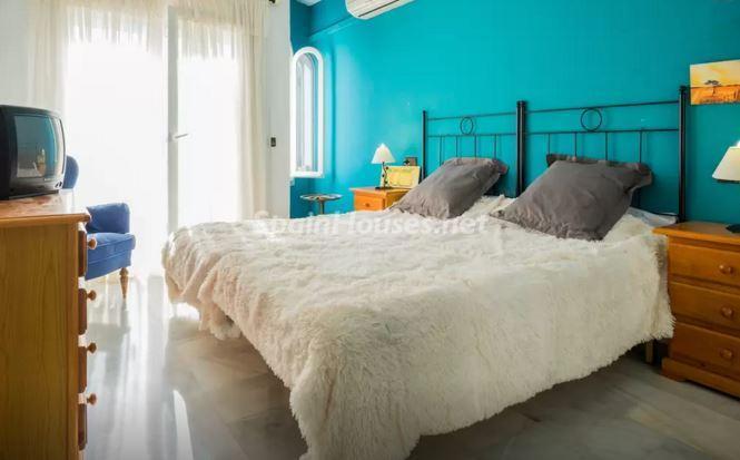 dormitorio98 - Luz, sol y mar en un precioso chalet en alquiler en Benajarafe (Costa del Sol, Málaga)