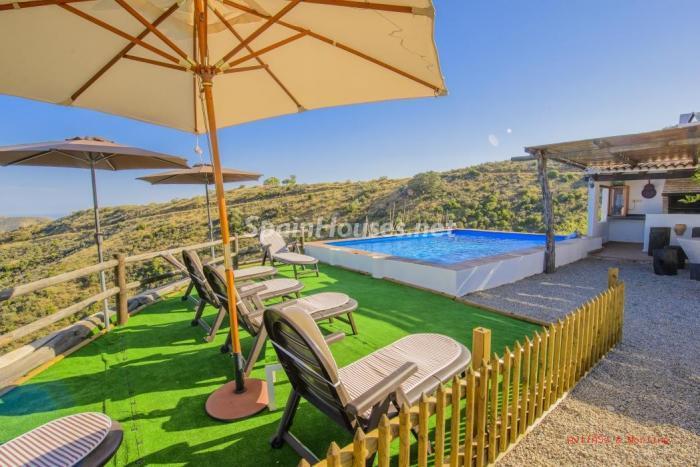 elborge malaga - 12 casas en alquiler por menos de 1.000 euros con rincones de relax, naturaleza y encanto