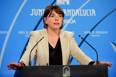 Elena Cortés, Consejera de Fomento y Vivienda de Andalucía