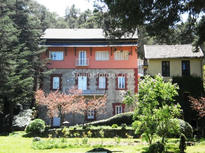 elespinar segovia 1 - 22 fantásticas casas de piedra, masías catalanas y villas mallorquinas para enamorar