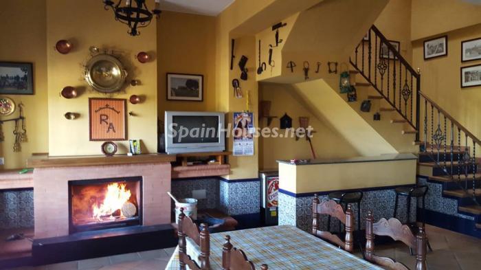 elrocio huelva - 16 fantásticas casas con chimenea y rincones de calidez para los últimos días del invierno