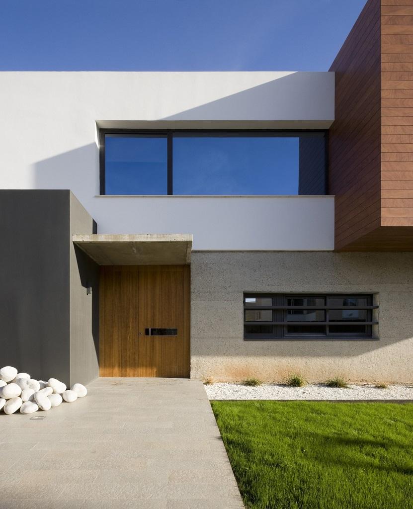 entrada exterior - Luz, volumen y espacio en una fantástica casa en el Pinar del Grao, Castellón de la Plana