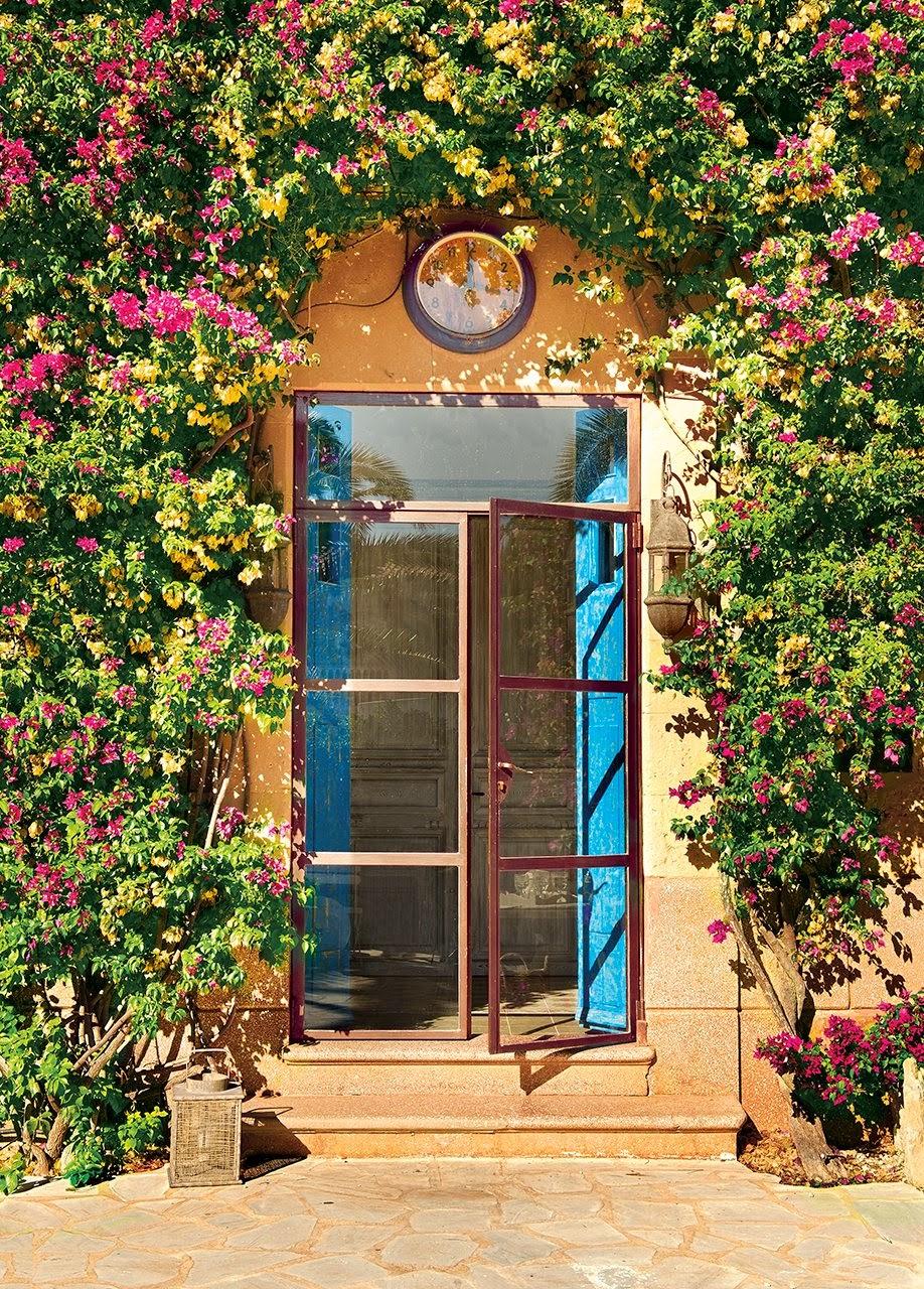 entrada13 - De antigua estación de tren a romántica casa llena de claridad y encanto