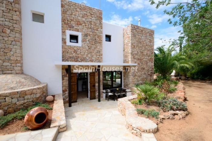 entrada24 - Bonita villa en Santa Eulalia (Ibiza, Baleares): toque mediterráneo y mucha privacidad