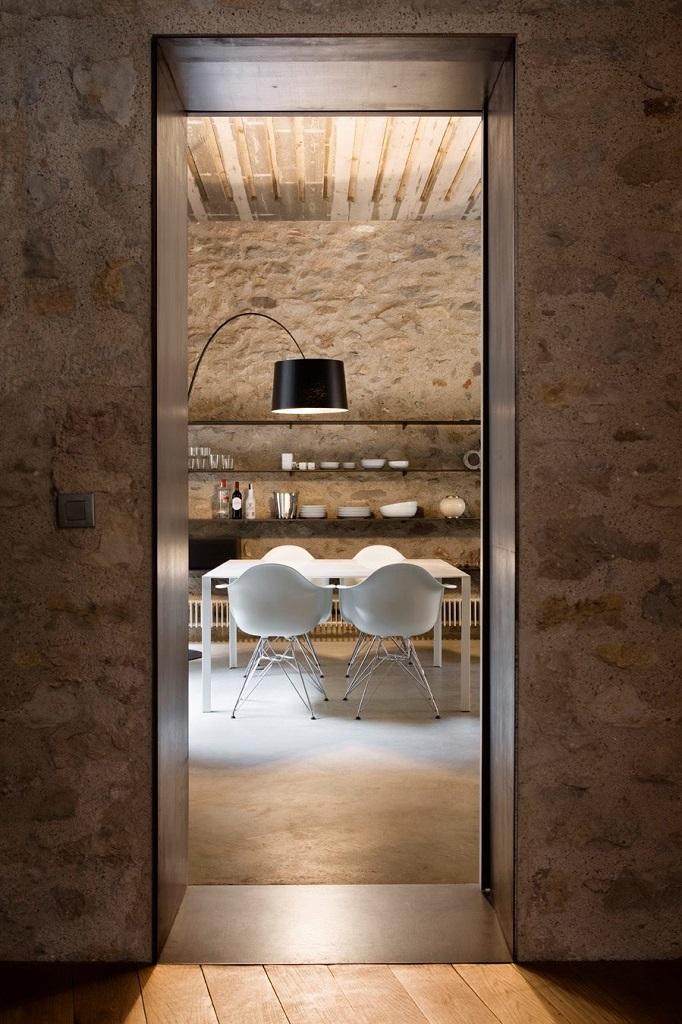 entradacocina - Encanto en el Barri Vell de Girona, lo antiguo y lo moderno fundidos a la perfección