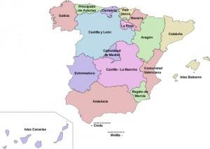 españa autonomias 300x213 - Renta 2014: Las nuevas deducciones autonómicas en materia de vivienda