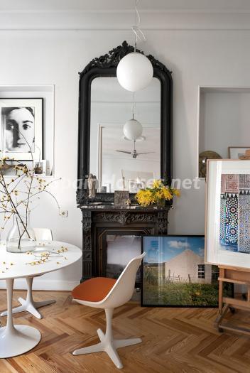 espejo - Precioso piso lleno de amplitud y estilo en el centro de Madrid