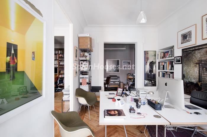 estudio1 - Precioso piso lleno de amplitud y estilo en el centro de Madrid
