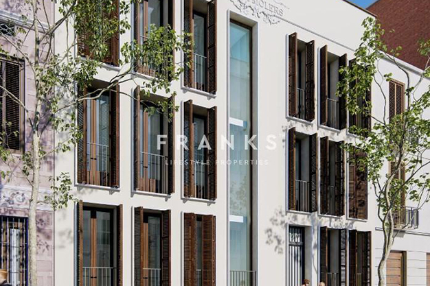 exterior 2 1 3 - Piso de lujo en Barcelona con piscina y jardín privado