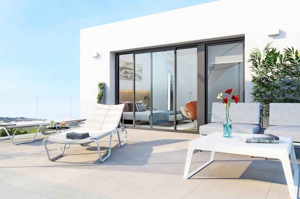 exterior 2 1 - Impresionante villa en Alicante, moderna y con amplias zonas verdes