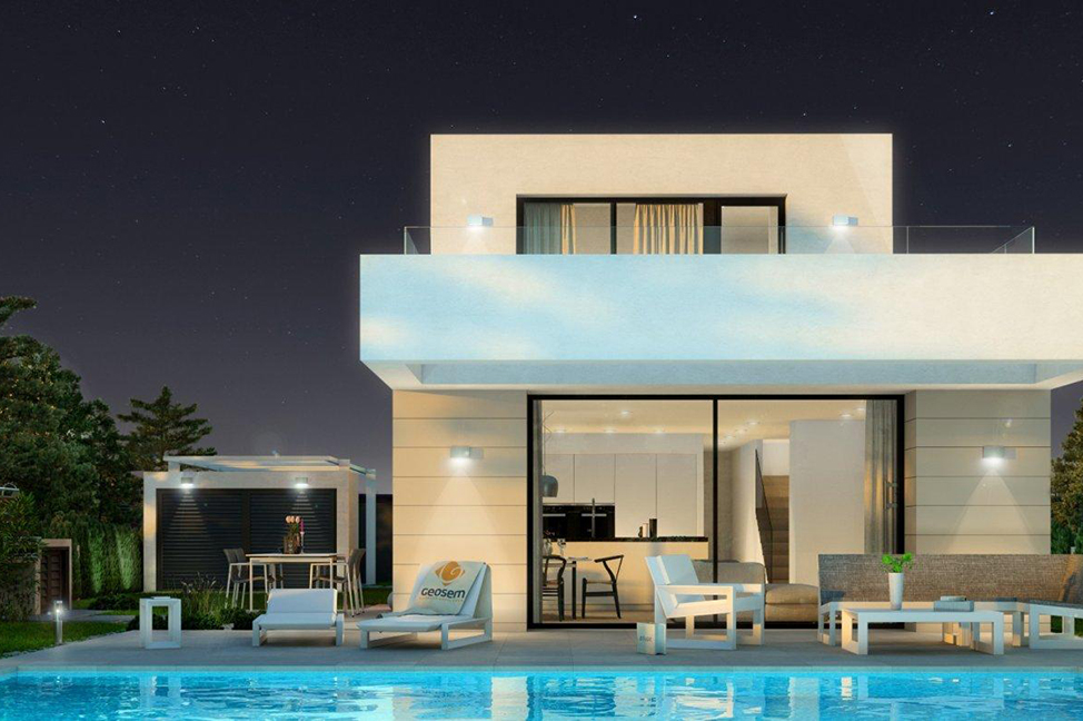 exterior 3 1 - Impresionante villa en Alicante, moderna y con amplias zonas verdes