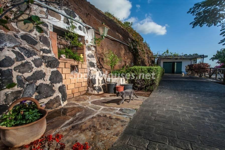 exterior 4 - Sabor canario en una fantástica casa con piscina y jardin en Arona (Tenerife)