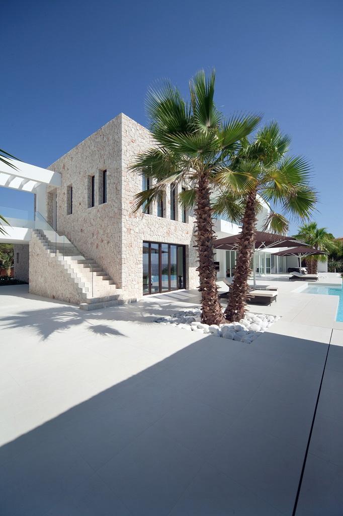 exterior casa1 - Espectacular y luminosa casa de diseño frente al mar en Cala d'Or, Santanyí (Mallorca)