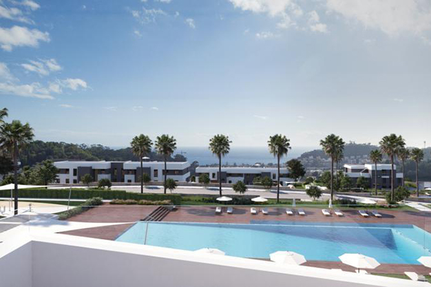 exterior malaga - Este piso de lujo en Málaga te atrapará por su diseño moderno y atractivo
