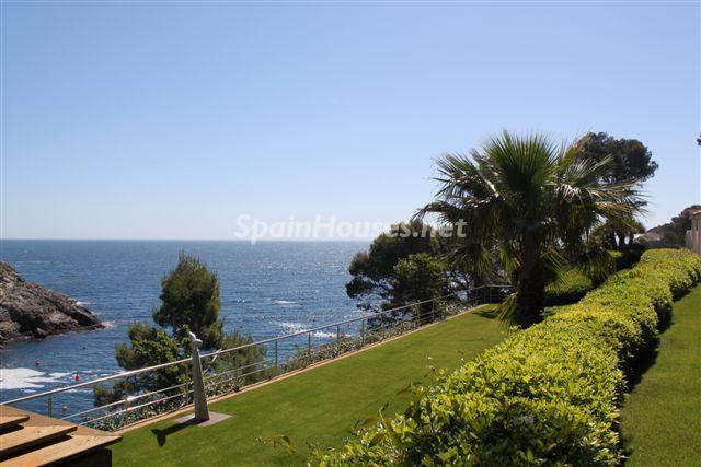 exterior vistas1 - Fantástica casa de lujo junto al mar en Cala de Aiguafreda, Begur (Costa Brava, Girona)