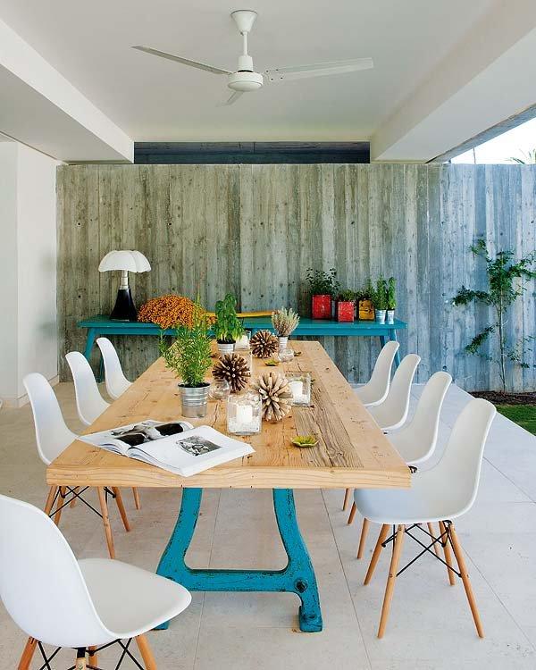 exterior17 - Toques de azul turquesa en una genial casa en Sotogrande (Costa de la Luz, Cádiz)