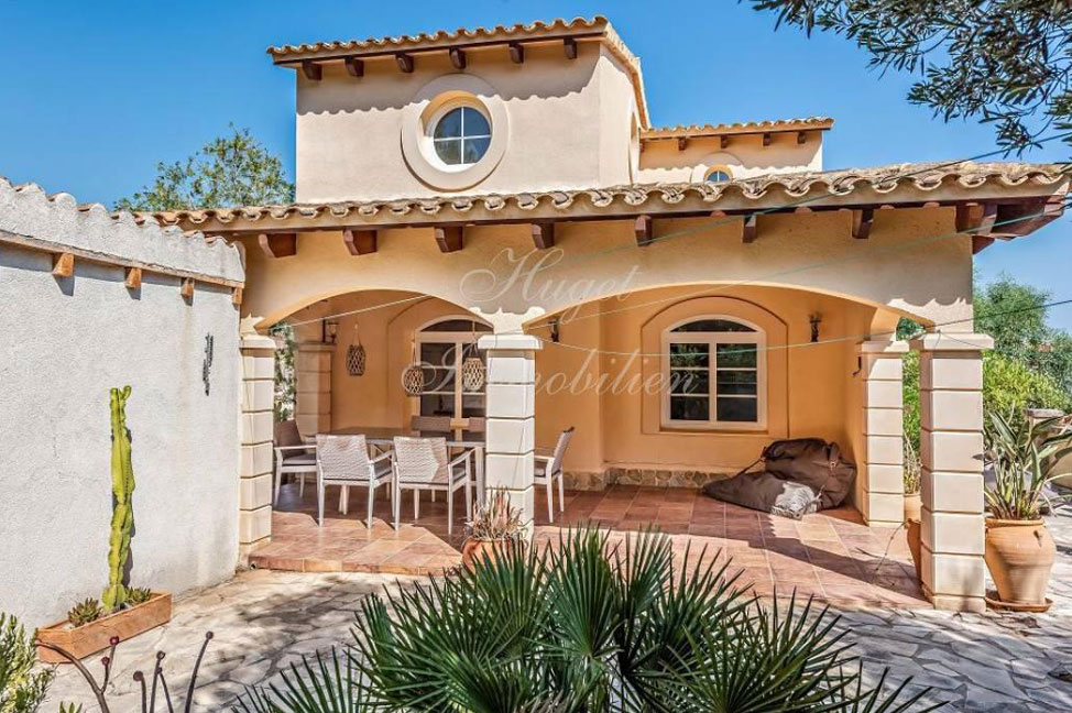 exterior2 3 - Maravillosa villa de estilo mallorquín: gran privacidad junto a la costa