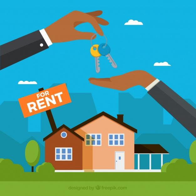 fondo concepto casa alquiler 23 2147779983 - Errores que se cometen a la hora de conseguir un buen alquiler