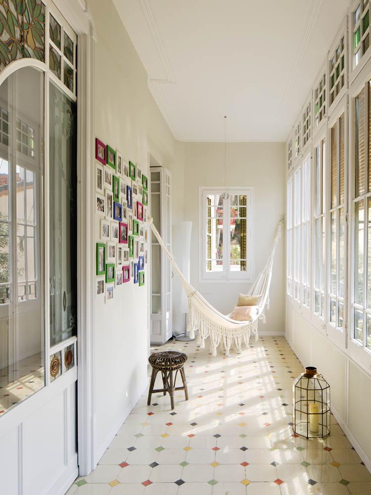 """galeria terraza1 - Toque """"Art Novou"""" con jardín en una elegante casa modernista en Barcelona"""