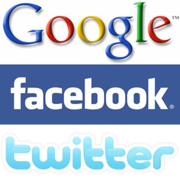google facebook twitter - Facebook pilla a Google en Estados Unidos