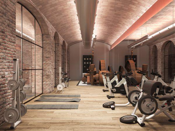 gym v05 1 600x450 - La unión de historia y lujo en pleno centro de Barcelona