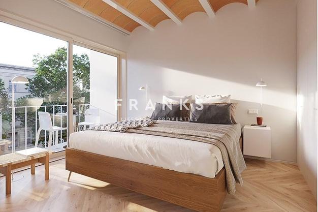 habitación 2 3 - Piso de lujo en Barcelona con piscina y jardín privado