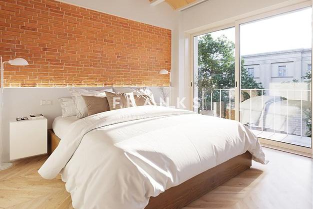 habitación 5 - Piso de lujo en Barcelona con piscina y jardín privado